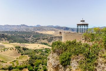 Ernest Hemingway viewing point in ronda