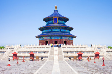 In de dag Temple Temple of Heaven in Beijing
