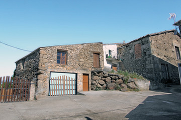 Wall Mural - Casa típica de Peñacaballera, Salamanca, Castilla y León, España
