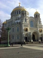 Морской собор. Якорная площадь. Кронштадт. Санкт-Петербург