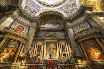 The Duomo, cathedral of Naples, campania, Italy