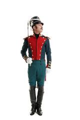 Guardsman with saber