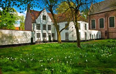 Begijnhof in Bruges, Belgium