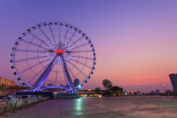 Asiatique in Twilight