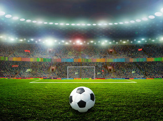Soccer ball - fototapety na wymiar
