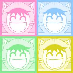 Four color mask