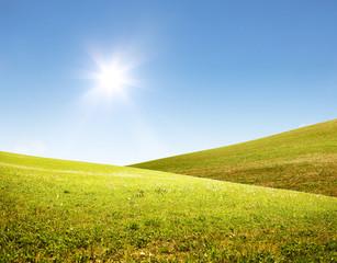 Schöne Sommer Landschaft