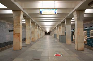 Moscow metro station Varshavskaya