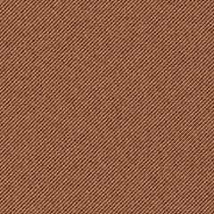 Seamless texture of brown denim diagonal hem