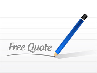 free quote message illustration design