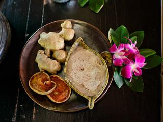 Thai Spa herb.