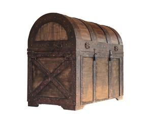 Vintage treasure chest box