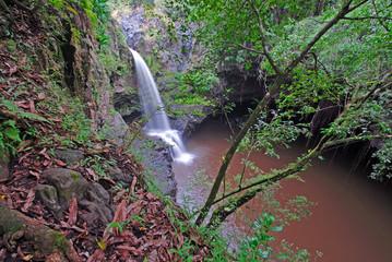 Waterfall in Haleakala National Park, Maui, Hawaii