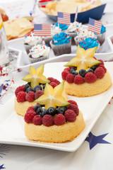 Angel Food Fruit Cake