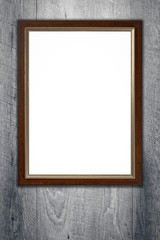 Old picture frame