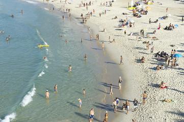 Ipanema Beach Rio de Janeiro Brazil from Above
