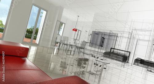 Appartamento rendering 3d progetto interni immagini e for Rendering 3d interni gratis
