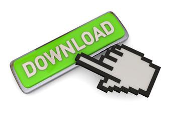 Download Button - 3D