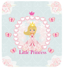 little Princess, abstract card