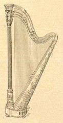 Double action pedal harp