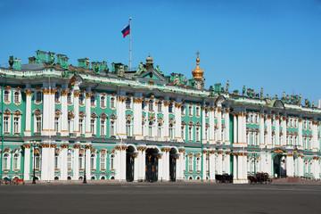 Россия. Санкт-Петербург.  Зимний дворец.