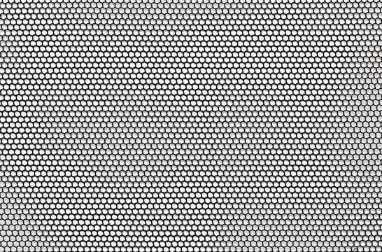 Black mesh lace material texture macro shot