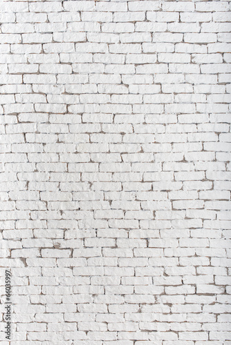 High Resolution White Brick Wall And Floor Textured Background