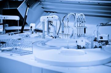 Chromatograph in laboratory