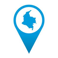Icono localizacion Colombia