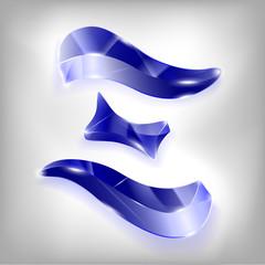 letter of the Greek xi alphabet