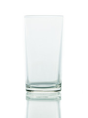 Glass water clear isolate