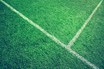 Vintage soccer grass background