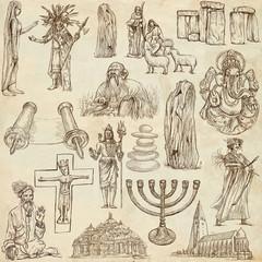 Religion and Spiritual Life around the World (set no.5)