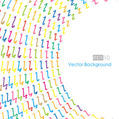 Vector illustration colored dots.