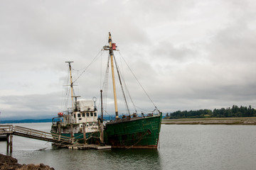 Fishing Vessel on Oregon Coast