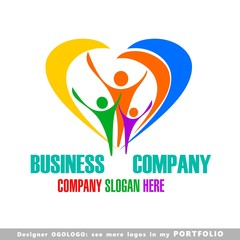logo, families, lifestyles, love, illustrations, happiness