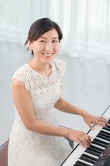 Elegant musician