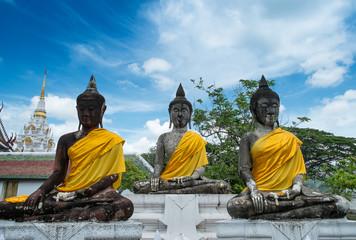Image of buddha in Wat Phra Tat Chai Ya