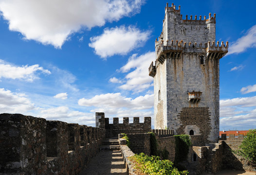 the ancient fortress, Beja, Portugal