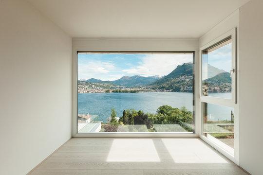 beautiful modern house, room