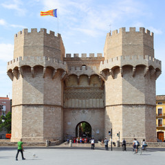 Wall Mural - Torres de Serranos