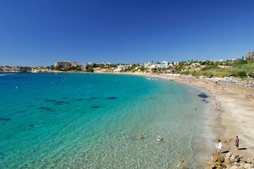 Garden Poster Cyprus Coral Bay Beach - Chypre