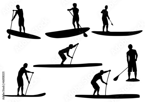Quot Sup Silhouettes 3 Quot Stock Image And Royalty Free Vector