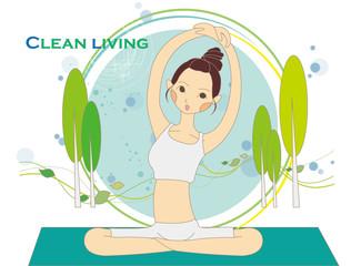 Illustration of wellness