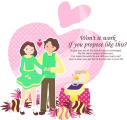 Illustration of propose