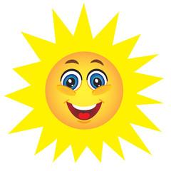 Cute sun