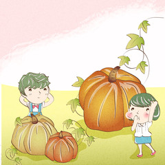 Illustration of fall
