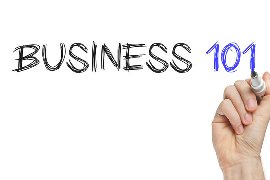 Hand writing business 101