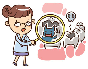 Illustration of Doctors and nurses