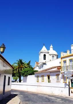 Old street of Castro Marim village, Portugal